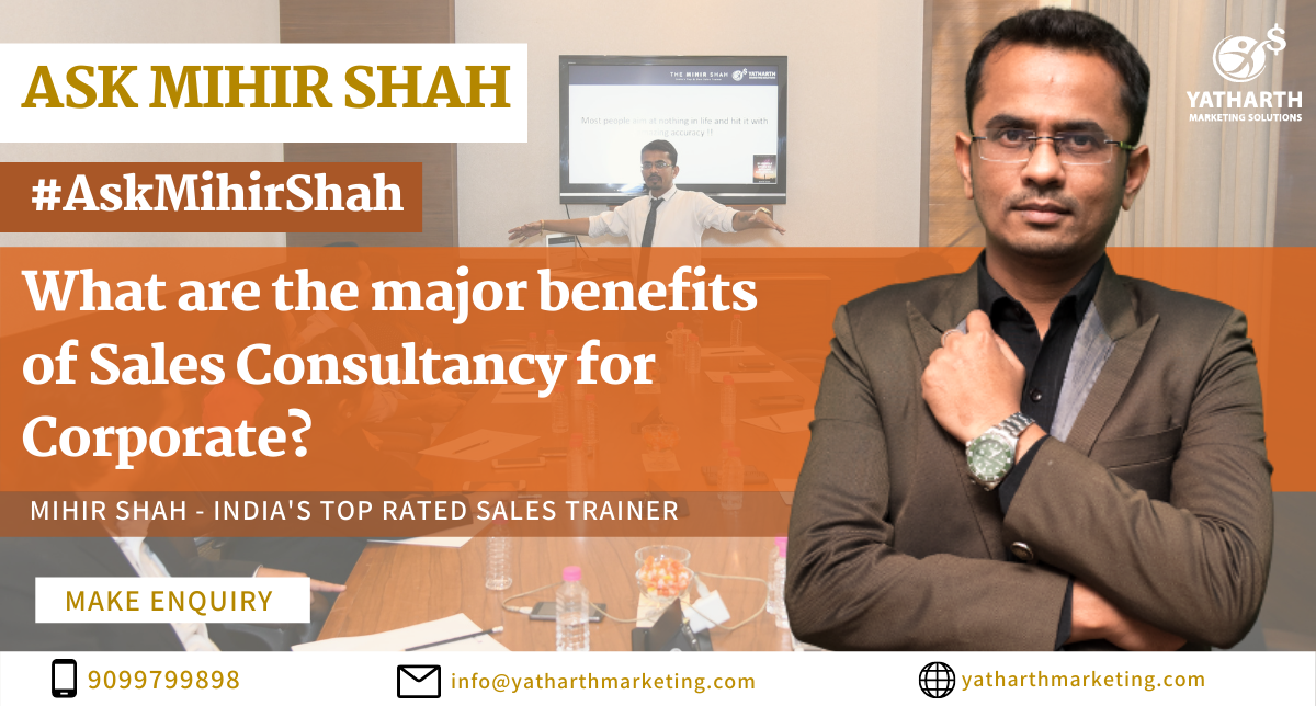 Benefits of Sales Consulting | Benefits of Sales Consulting Programs | Sales Consulting Benefits | What are The Benefits of Sales Consulting