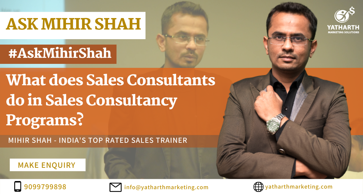 Corporate Sales Consulting Programs | Online Sales Consulting Programs | Sales Consulting Programs | Sales Consulting Programs Online | Sales Consultant | What Sales Consultant do